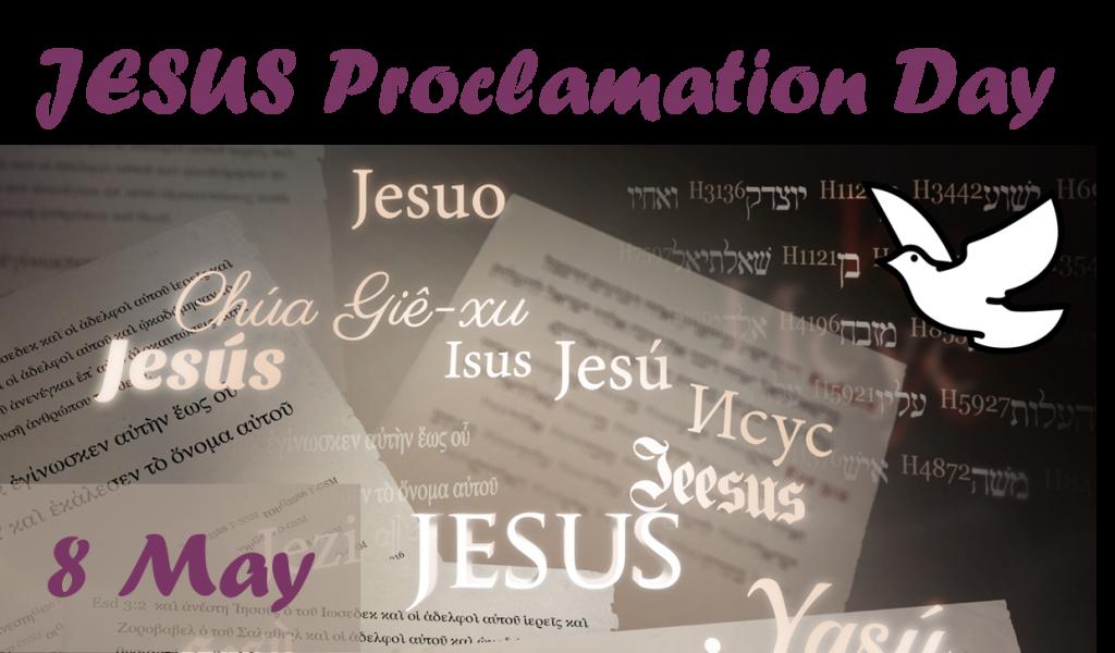 JESUS Proclamation Day Logo
